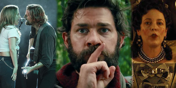 best movies and performances of 2018, including a star is born, a quiet place, the favourite