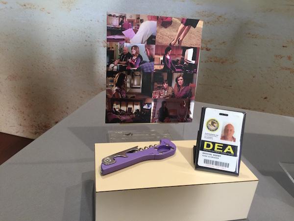 Breaking Bad props Hank's badge and corkscrew at Smithsonian