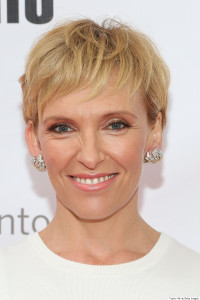 toni collette on the red carpet