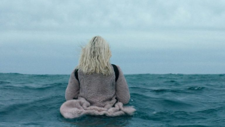 rooney mara walking into the ocean the discovery