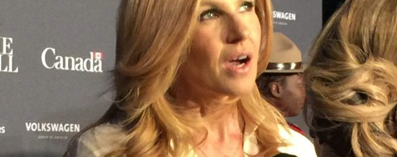 Connie Britton at White House Correspondents Dinner Event at the Canadian Embassy