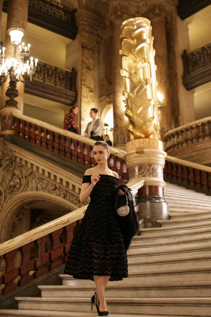 New Pictures From 'Emily In Paris' Released
