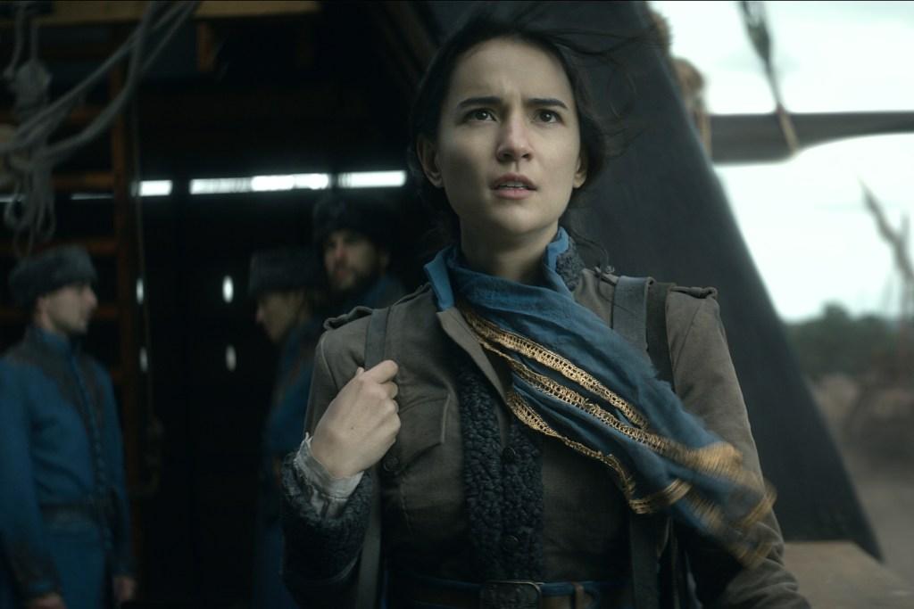 Jessie Mei Li as Alina Starkov