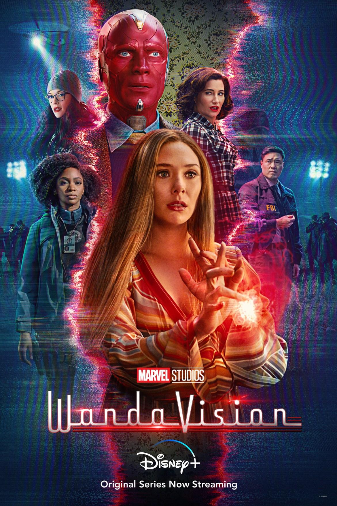 Marvel Studios WandaVision mid-season poster