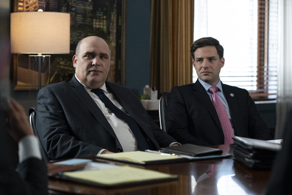 """LAW & ORDER: SPECIAL VICTIMS UNIT -- """"And the Empire Strikes Back"""" Episode 23001 -- Pictured: (l-r)"""
