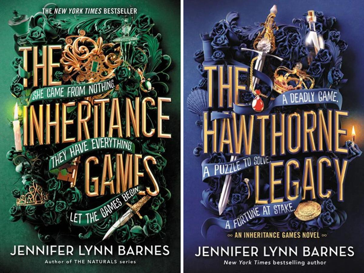 The Inheritance Games and The Hawthorne Legacy by Jennifer Lynn Barnes