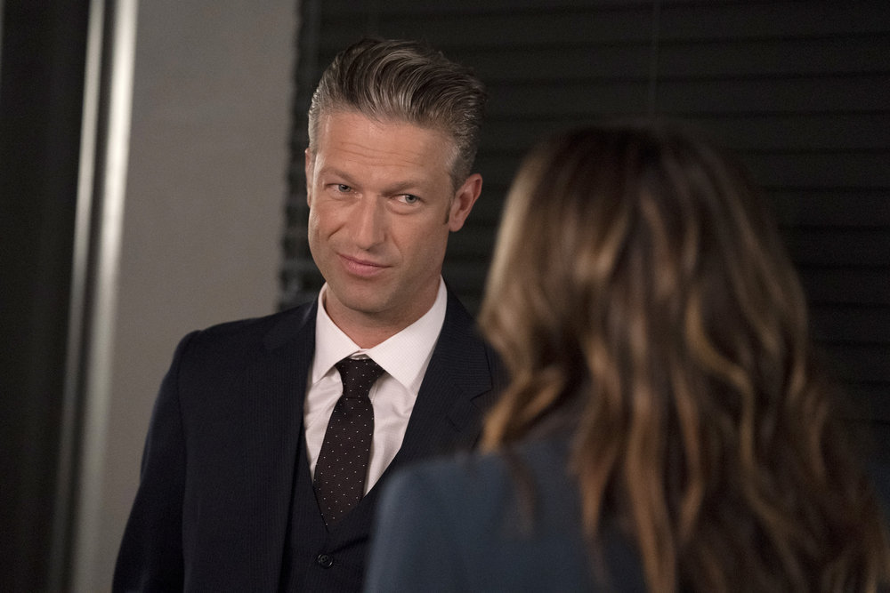 """LAW & ORDER: SPECIAL VICTIMS UNIT -- """"One More Tale of Two Victims"""" Episode 23004 -- Pictured: Peter Scanavino as Assistant District Attorney Sonny Carisi -- (Photo by: Heidi Gutman/NBC)"""