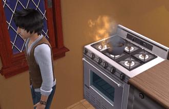 Like failing at cooking...