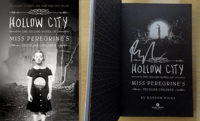 Hollow City signed copy