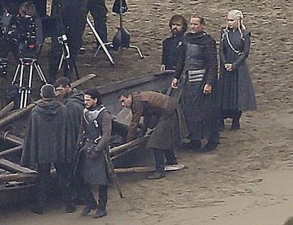 jon snow gendry tyrion ser jorah daenerys targaryen season 7