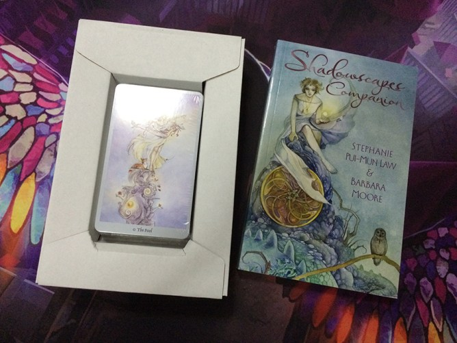 shadowscapes tarot book