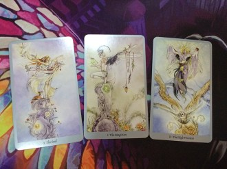 shadowscapes tarot major arcana
