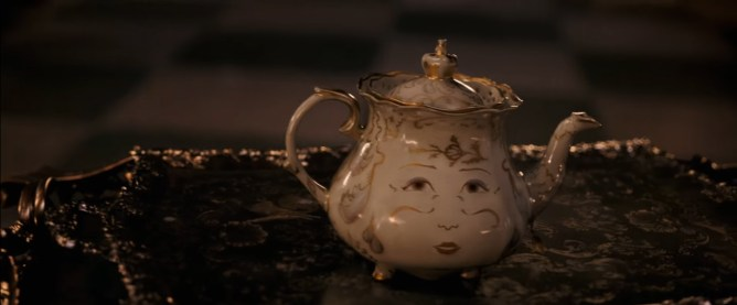 beauty and the beast trailer - mrs. potts