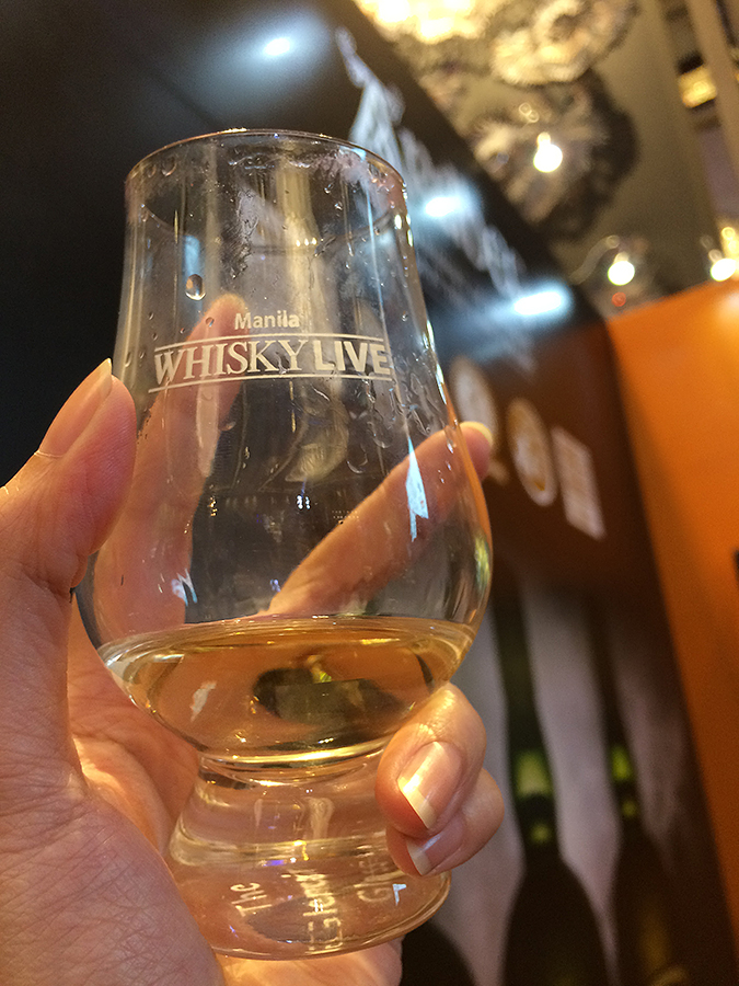 whisky live manila 2016 glass ardbeg
