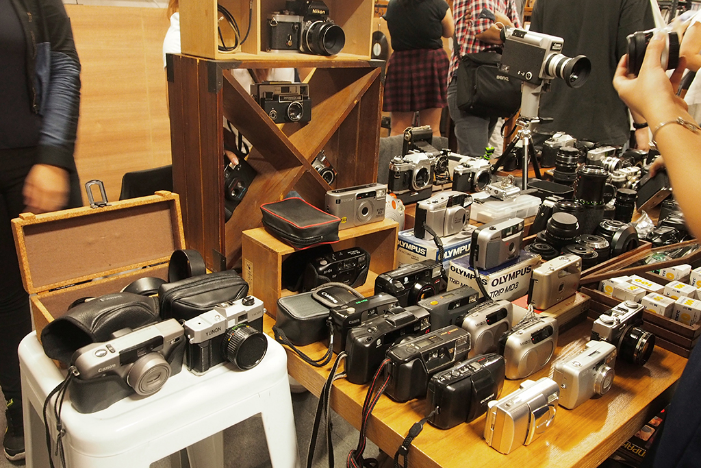 istorya vintage appreciation fair 2017 cameras