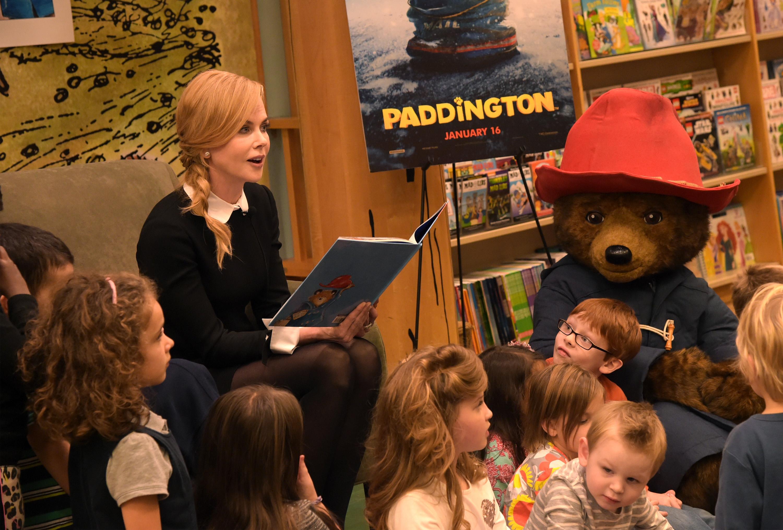 Nicole Kidman Hosts Story Time Reading Of Paddington To