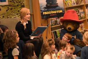 Nicole Kidman Paddington Storytime Event At Barnes & Noble Celebrating Upcoming Movie Opening January 16