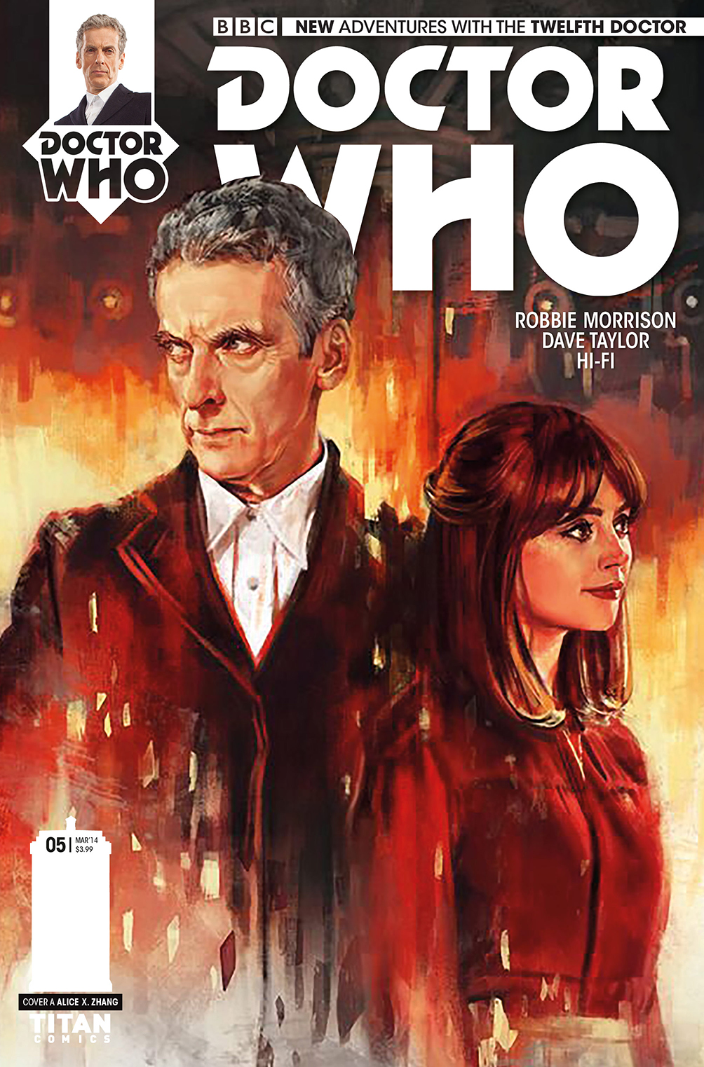 Art Preview Doctor Who The Twelfth Doctor Issue 5 By Robbie