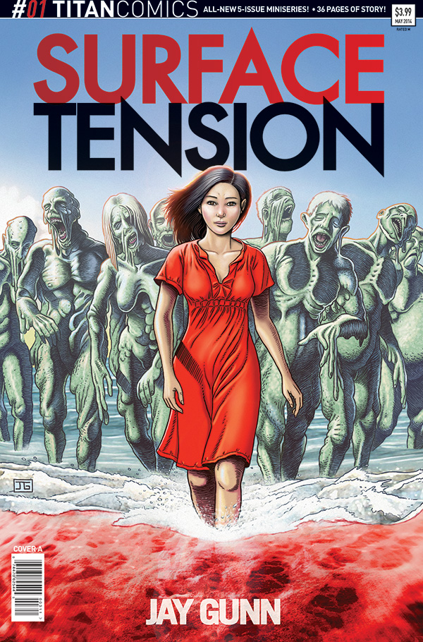 Surface Tension 1 Cover A