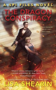 Cover for The Dragon Conspiracy by Lisa Shearin