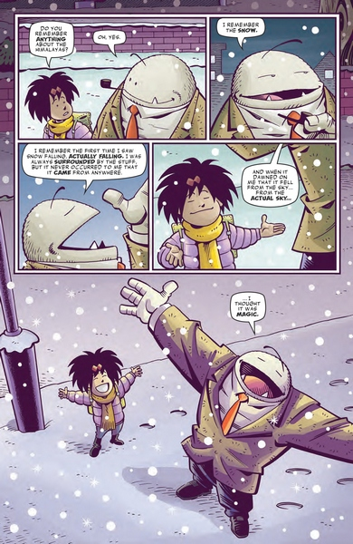 Abigail and the Snowman #4 page 7