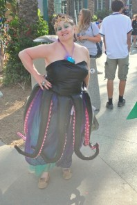 Ursula cosplay at Wondercon 2015