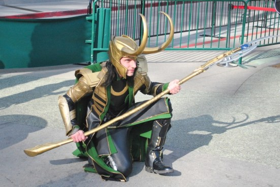 Loki Cosplay Wondercon 2015