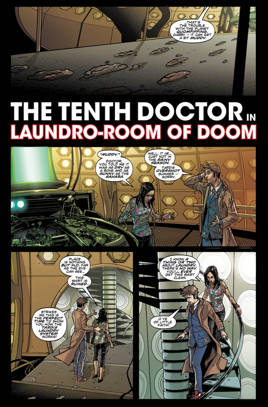 Free Doctor Who Comic On Free Comic Book Day Tenth Doctor Sample