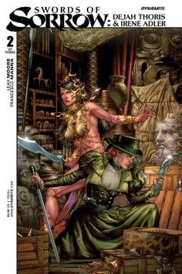 Swords of Sorrow Dejah Thoris/Lady Irene Cover