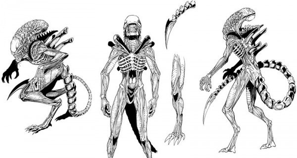 Xenomorph from Aliens Vampirella