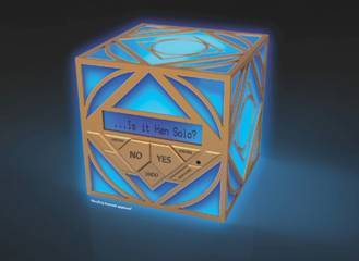 Holocron from Uncle Milton's