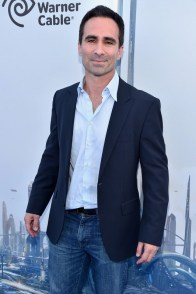 """ANAHEIM, CA - MAY 09: Actor Nestor Carbonell attends the world premiere of Disney's """"Tomorrowland"""" at Disneyland, Anaheim on May 9, 2015 in Anaheim, California. (Photo by Alberto E. Rodriguez/Getty Images for Disney) *** Local Caption *** Nestor Carbonell"""