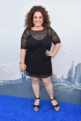 "ANAHEIM, CA - MAY 09: Actress Marissa Jaret Winokur attends the world premiere of Disney's ""Tomorrowland"" at Disneyland, Anaheim on May 9, 2015 in Anaheim, California. (Photo by Alberto E. Rodriguez/Getty Images for Disney) *** Local Caption *** Marissa Jaret Winokur"