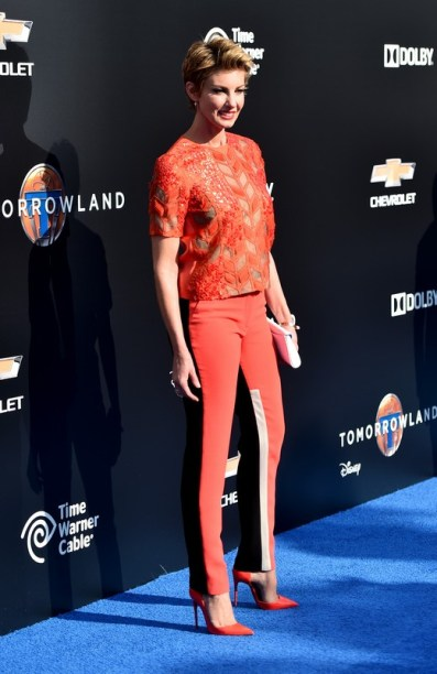 """ANAHEIM, CA - MAY 09: Singer Faith Hill attends the world premiere of Disney's """"Tomorrowland"""" at Disneyland, Anaheim on May 9, 2015 in Anaheim, California. (Photo by Alberto E. Rodriguez/Getty Images for Disney) *** Local Caption *** Faith Hill"""