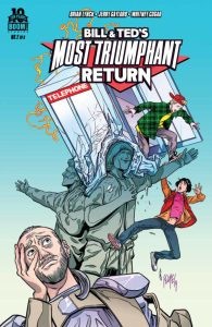 Bill and Ted's Most Triumphant Return Cover