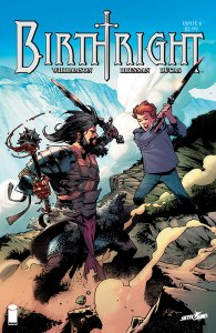 Cover for Birthright #6