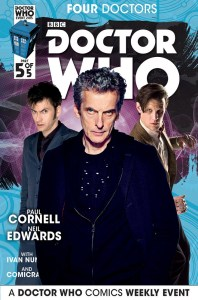 Doctor Who the Four Doctors Interconnected Cover B 1 of 5