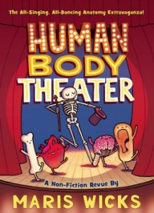 Cover for Human Body Theater by Maris Wicks