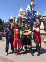 Superhero Day at Disneyland