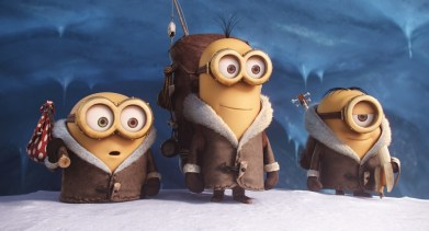 Minions in Snow Gear