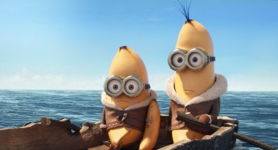 Minions by the sea