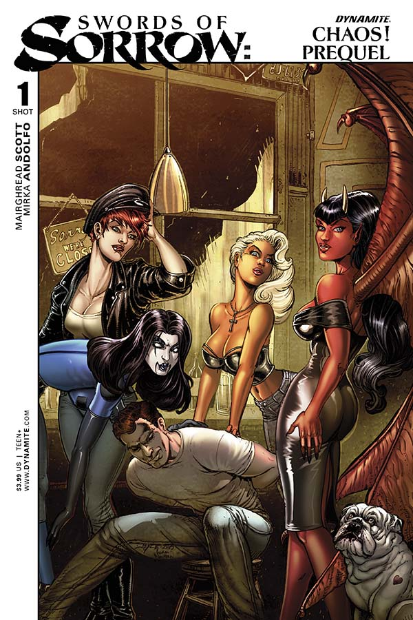 Swords of Sorrow Chaos Cover by Chin