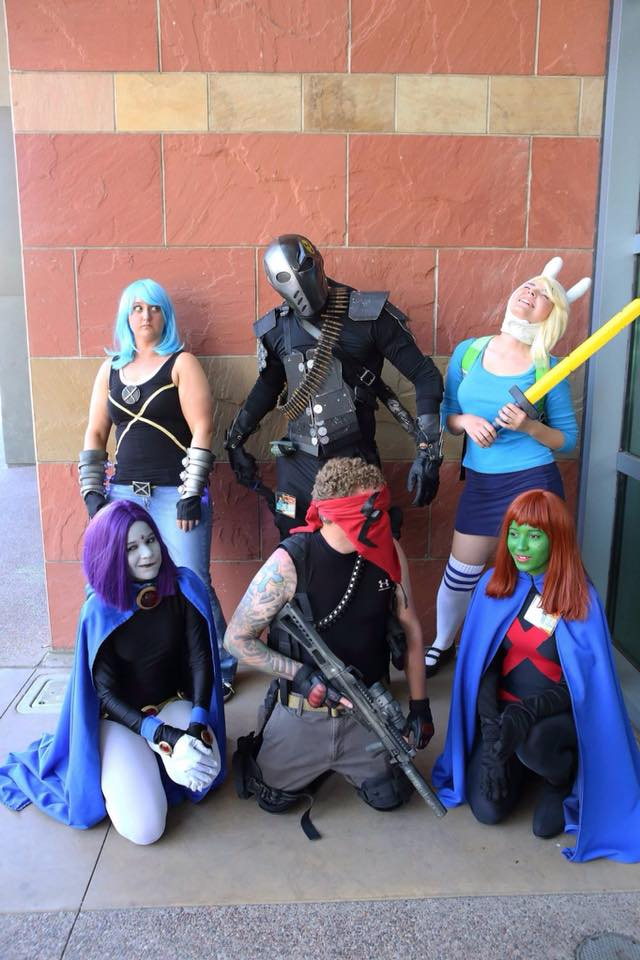 Heroes and Villains of Tomorrow Group - Photo by: Grant Brummett