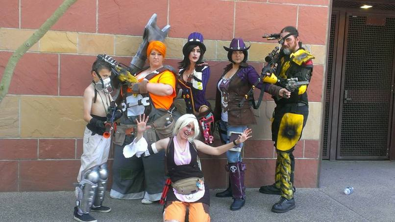 Borderlands Cosplay Group - Photo by: Alvin Johnson Photography