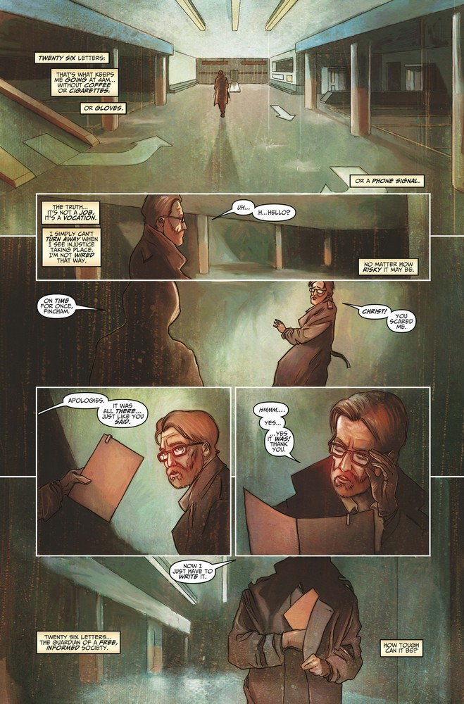 Death Sentence: London #3 preview page 1 of 3