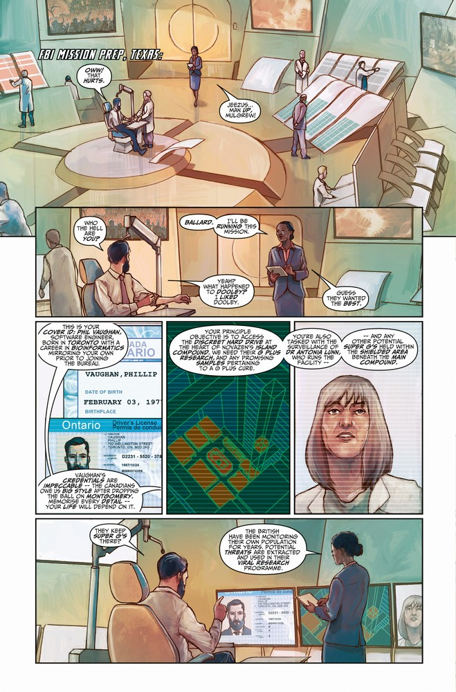 Death Sentence: London #3 preview page 2 of 3