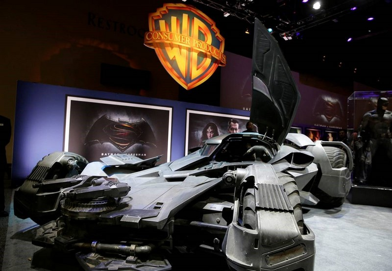 And the Batmobile again, from a slightly different angle