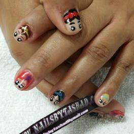Nail Art of all Disney Princess
