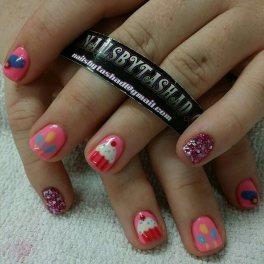 Nail Art- Pinkie Pie