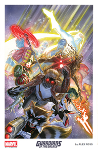 Alex Ross SDCC 2015Guardians of the Galaxy Lithograph 1